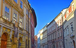 old city of krakow Royalty Free Stock Photography