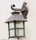 Old city lamp Stock Photography