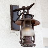 Old city lamp Stock Image