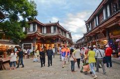 Old city of Lijiang , China Royalty Free Stock Photography
