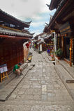 Old city of Lijiang , China Stock Image