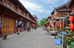 Old city of Lijiang , China Royalty Free Stock Photography