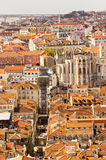 Old city of lisbon Stock Image