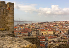 Old city of lisbon Royalty Free Stock Photography