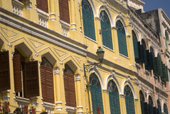 Old city, Macao. Old city scen in Macao Stock Photos