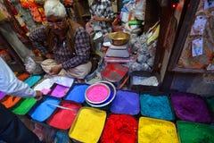The old city market. Bikaner. Rajasthan. India Stock Photos