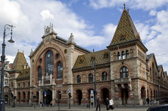 Old city market building. In Budapest Stock Images