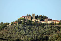 The old city of Montecatini Stock Images