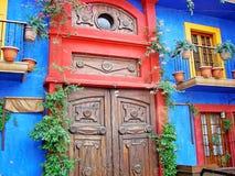 Old city - Monterrey Barrio Antiguo. Mexico Royalty Free Stock Photos