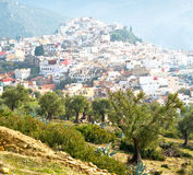 Old city in morocco africa land home and landscape valley. Old city in africa land home and landscape valley royalty free stock images