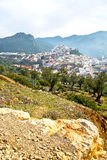 Old city in morocco africa landscape valley. Old city in morocco africa land home and landscape valley stock images