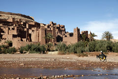 Old city in morocco2. An ancient city of Ait Ben Hadu in morocco Royalty Free Stock Photos