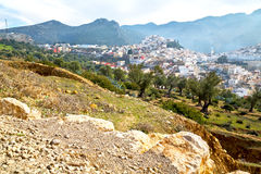 Old city in morocco land home. Old city in morocco africa land home and landscape valley stock photos