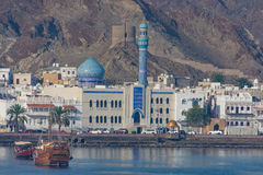 Old city of Mutrah, Muscat, Oman Stock Images