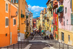 Old city of Nice, France.