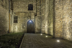 Old city at night - Gdansk, Poland Royalty Free Stock Photos