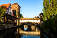 Old city of Nuremberg royalty free stock photo