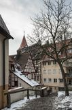 The old city of Nuremberg stock images