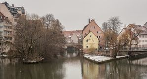 The old city of Nuremberg royalty free stock image