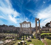 Old City Of Rome Royalty Free Stock Photos
