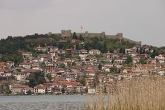 Old city Ohrid Stock Images