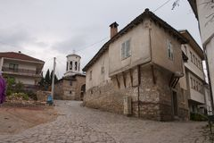 Old city Ohrid Stock Image