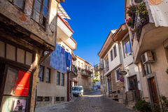 Old City Ohrid Early morning Royalty Free Stock Photo