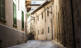 Old city of Palma de Mallorca, Spain Stock Photos