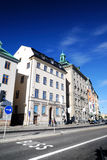 Old city part of Stockholm Royalty Free Stock Images