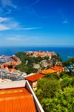 Old city peninsula in Monaco Royalty Free Stock Photography
