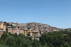 Old city perugia Stock Image