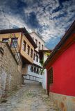 Old city Plovdiv (Bulgaria). An old city, historical buildings, is in Plovdiv (Bulgaria Royalty Free Stock Photos