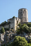 Old city Pocitelj fortress Royalty Free Stock Photography