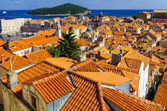 Old City and Port, Dubrovnik Stock Photography