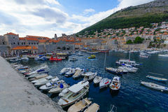 Old City Port, Dubrovnik Royalty Free Stock Photos