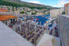 Old City Port, Dubrovnik Royalty Free Stock Image