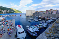 Old City Port, Dubrovnik Royalty Free Stock Photography