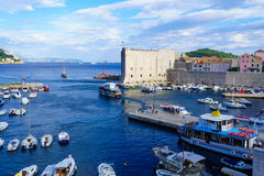 Old City Port, Dubrovnik Royalty Free Stock Photo