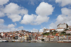 Old City of Porto Skyline in Portugal stock images
