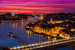 Old city of Porto Stock Photography