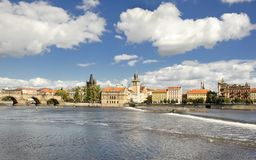 Old city in Prague Royalty Free Stock Photo