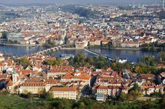 Old city in Prague stock photos