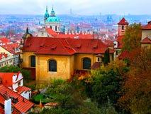 Old city of Praha Stock Photo