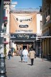 Old city pub Royalty Free Stock Photo