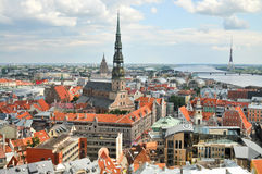 Old city of Riga Stock Image