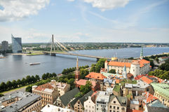 Old city of Riga Stock Photos