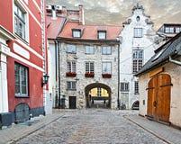 Old city of Riga, Latvia Royalty Free Stock Photo