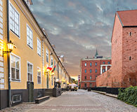 Old city of Riga, Latvia Stock Photo