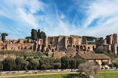 Old city of Rome Stock Photography
