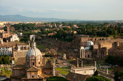 Old city of Rome Royalty Free Stock Photography